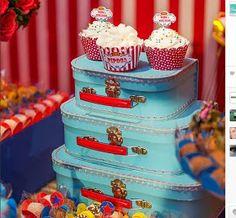 Ateliê Bela Época - Lembranças para festas: Festa Circo Vintage Circo Vintage, Children, Cake, Desserts, Food, 1 Year, Belle, Fiestas, Young Children