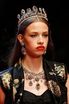 Pasarela: Detalles de la Colección Ready-to-Wear de Dolce & Gabbana primavera 2018.  Semana de la Moda de Milan. Fotos Detalles de la colección: Marcus Tondo / Indigital.tv