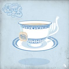 Royal Tea Art Print | Paddyroo