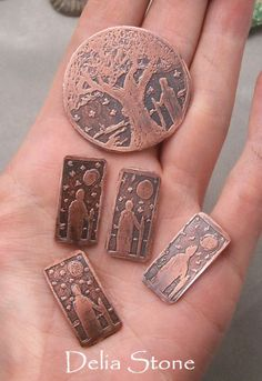 Metal etching tutorial, including recipe for DIY etching solution