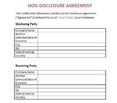 Indiafilings Employee Non Disclosure Agreement Template