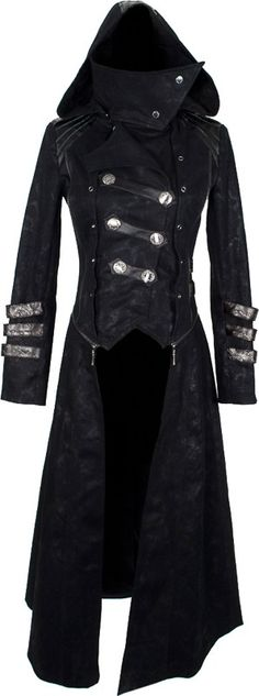 Women's transformable coat by Punk Rave