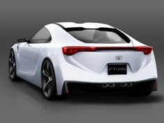 Toyota FT HS Concept Car