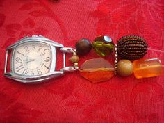 DIY beaded watch bands