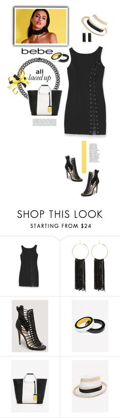 """All Laced Up for Spring with bebe: Contest Entry ^TS"" by rosie305 ❤ liked on Polyvore featuring Bebe and alllacedup"