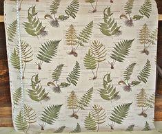 Fern Nature Upholstery Fabric via brickhousefabrics.com