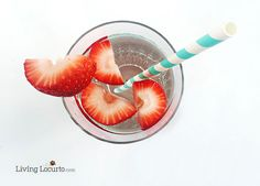 Easy Slim Down Detox Water Recipe. A simple energizing drink that helps with weight management.
