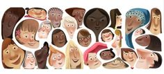 Google Doodle Salutes Spirit of Womanhood on International Women's Day --- @ http://www.dnaindia.com/india/report_google-doodle-pays-tribute-to-the-spirit-of-womanhood-on-international-women-s-day_1808901