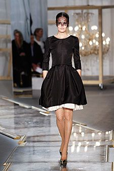 black dress Jason Wu Fall 2011