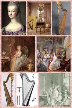 Read about Marie Antoinette's HARP OBSESSION on Titillating Tidbits About the Life and Times of Marie Antoinette.    http://leahmariebrownhistoricals.blogspot.com/2011/05/marie-antoinettes-harp.html?m=1