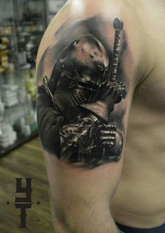 Resultado de imagen de medieval knight tattoo