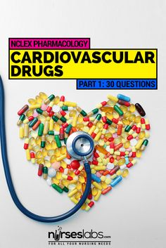This nursing exam covers topics about drugs associated with cardiovascular therapies. Test your knowledge with this 30-item exam. Get that perfect score in your NCLEX or NLE exams with this questionnaire. #NCLEX #NURSING #NURSES