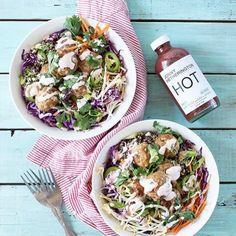 Delicious Banh Mi Bowls with Jonny Hetherington Essentials Beet Habanero #HotSauce infused mayo made by the inspiring @FoodGays. Perfect for rainy days. Click for Recipe #JonnyHetheringtonEssentials #HabaneroSauce #Habanero #Beet #Recipe #Bowl #BanhMi #Spicy #Hot #Natural #Healthy #EssentialHotSauce #Vancouver #Cooking #Chef #Food #Foodporn #Yummy #Eat #PicOfTheDay #Meal #Heat #Foodstagram #FoodPhotography #FoodStyling #FoodGay