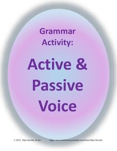 What can i compare for an active student vs passive student?
