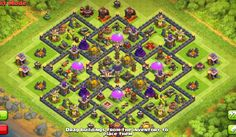 Best Farming Base For Town Hall 9