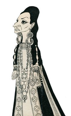 Maria Callas (1970, caricature dans Médée)