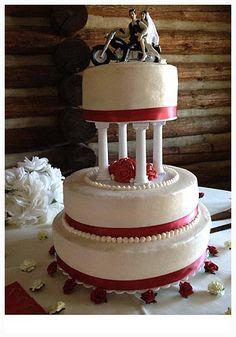 Harley Davidson Wedding Cake Toppers Top Motorcycle Wedding Cake ...