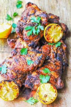 Middle Eastern Chicken, Middle Eastern Dishes, Middle Eastern Recipes, Grilled Chicken Recipes, Grilled Meat, Yogurt Marinated Chicken, Mediterranean Recipes, Mediterranean Chicken, Grilling Recipes