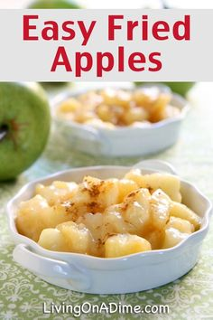 Easy Fried Apples Recipe - 18 Of The BEST EVER Apple Recipes
