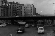 1960 - Inaguración del paso elevado de Cuatro Caminos.