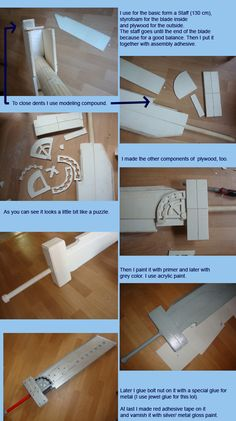 Found a tutorial for a Fusion Sword cosplay prop. Cosplay Sword, Cosplay Weapons, Cosplay Diy, Halloween Cosplay, Cosplay Ideas, Costume Tutorial, Cosplay Tutorial, Inuyasha Cosplay, Fantasias Halloween