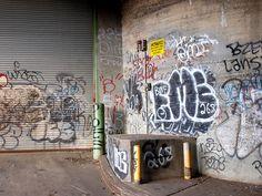 Riverside Drive Graffiti Mural, Washington Heights, New York City by jag9889, via Flickr
