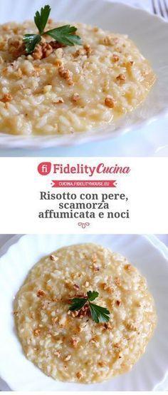 italian food ideas for dinner Risotto Recipes, Pasta Recipes, Cooking Recipes, I Love Food, Good Food, My Favorite Food, Favorite Recipes, Vegetarian Recipes, Healthy Recipes