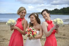 Crawfordsburn Beach, Northern Ireland. Great location for wedding photos, as long as the weather is good.