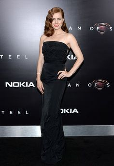 """Amy Adams attends the """"Man Of Steel"""" world premiere at Alice Tully Hall at Lincoln Center on June 10, 2013 in New York City."""
