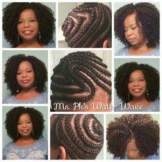 New ideas crochet braids styles water waves Crochet Braid Pattern, Crochet Braid Styles, Braid Patterns, Crochet Hair, Crotchet Braids, Natural Hair Care Tips, 4c Natural Hair, Natural Hair Styles, Crochet Braids Hairstyles
