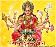 Dgreetings - Happy Navratri Card
