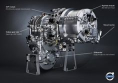 Volvo hybrid drive: 60,000 rpm flywheel, 25% boost to mpg