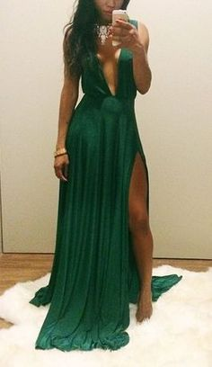 Green Prom Dresses,Sexy Evening Dresses,Prom Gowns,Elegant Prom Dress,Prom Dresses,Simple Evening Gowns,Modest Formal Dress