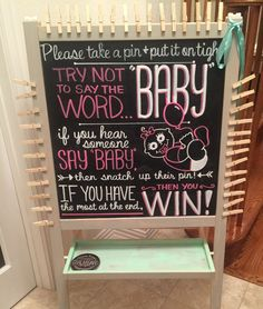 Perfect for a baby shower game!