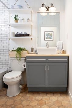 20 bathroom storage over toilet organization ideas. You have a small bathroom and you don't have idea how to design it? A small bathroom can look great and be fully functional as the large bathrooms. Bad Inspiration, Bathroom Inspiration, Bathroom Ideas, Bathroom Remodeling, Bathroom Vanities, Bathroom Interior, Bathroom Makeovers, Bathroom Furniture, Remodeling Ideas