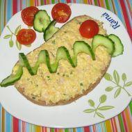 Tvarůžková pomazánka s vejci a šunkou recept - Vareni.cz Slovak Recipes, Avocado Egg, Ham, Zucchini, Eggs, Vegetables, Breakfast, Breakfast Cafe, Egg