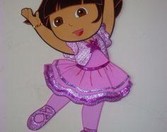 Dora Bailarina c/90 cm altura - painel