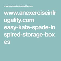 www.anexerciseinfrugality.com easy-kate-spade-inspired-storage-boxes Metal Bookcase, Storage Boxes, Kate Spade, House Ideas, Inspired, Easy, Storage Crates