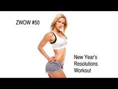 ZWOW #50 New Year's Resolution Workout... no equipment needed. 5 exercises, 5 rounds for time. Zuzanas time: 19:24