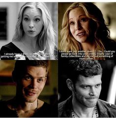 #TVD The Vampire Diaries Caroline & Klaus
