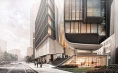 The Art of Rendering: Alex Hogrefe Creates Stunning Architectural Visualizations Using Only SketchUp and Photoshop - Architizer