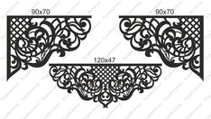 Victorian Porch, Boarder Designs, Balcony Railing Design, Wrought Iron Decor, Pooja Room Design, How To Make Drawing, Home Curtains, Writing Art, Stencil Patterns