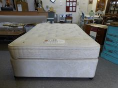 HYPNOS Double bed and mattress ------------------- £145 (PC484)