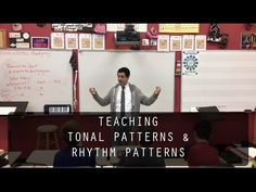 Teaching Tonal and Rhythm Patterns - YouTube Curriculum Design, Learning Theory, Sequencing Activities, Teaching Strategies, Music Theory, Educational Videos, Patterns, Auditory Processing, Board