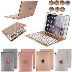 7 Color iPad Case Keyboard Pro 9.7