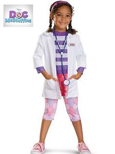 Toddler Doc McStuffins Costumes | Cheap Disney Halloween Costume for Toddler