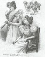 Les Fées Tisseuses :: Patrons 1800 à 1910 gratuits France Mode, Statue, Couture, Painting, Art, Cashmere Dress, Paper Pieced Patterns, Art Background, Painting Art