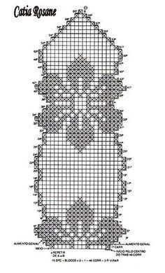 grafico do pavo the peacock Crochet World, Crochet Mat, Crochet Bikini Pattern, Thread Crochet, Crochet Doilies, Crochet Patterns Filet, Crochet Table Runner Pattern, Crochet Designs, Doily Patterns