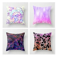 Lovely printed pillows :) available at http://society6.com/SamanthaWarren