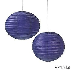 Add to your party decorations with these lovely Purple Paper Lanterns. They're classic party decorations. Match them to your wedding theme for you. Purple Lantern, Lantern Set, Hanging Paper Lanterns, Aqua Wedding, Girl 2nd Birthday, Metal Hangers, Reception Decorations, Reception Ideas, Oriental Trading